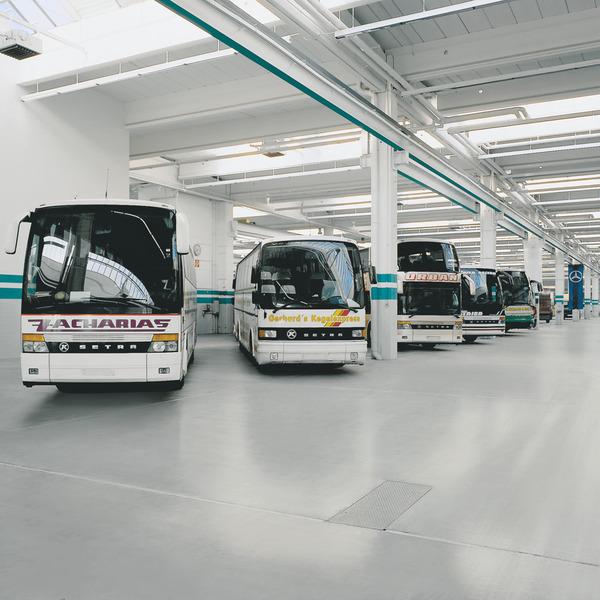Bodenbeschichtung Garage Industriehalle Essen