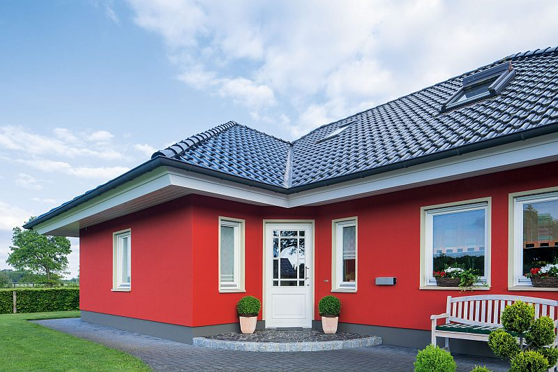 Fassade Anstrich Einfamilienhaus Essen Heidhausen