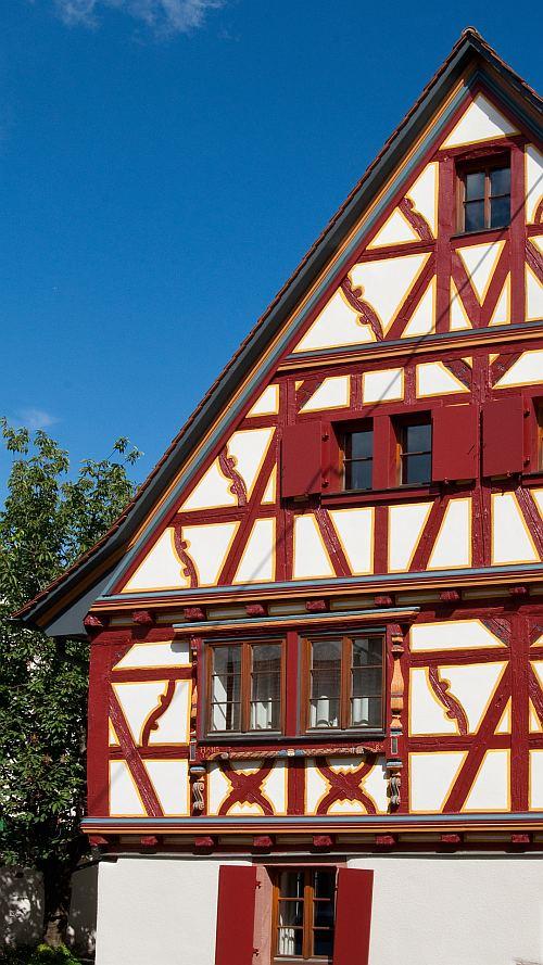 Fassade Sanierung Anstrich Fachwerk Burgaltendorf