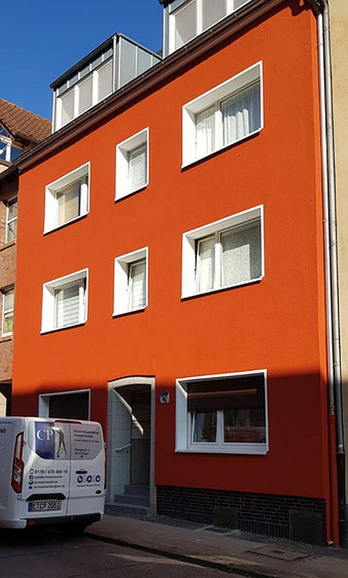 Fassadensanierung Fassadenanstrich in Essen Stoppenberg