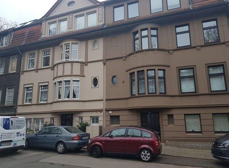 Fassadensanierung Mehrfamilienhaus in Essen Holsterhausen