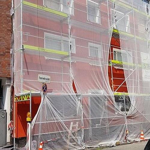 Gerüstbau für Fassadensanierung