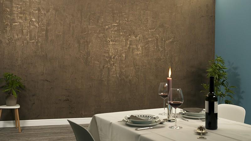 Maler-Essen-Zentrum-Restaurant-Glanzeffekt-Struktur