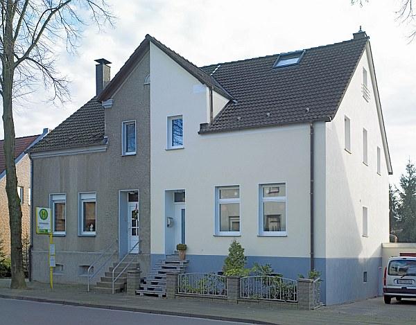 Wärmedämmung Haus in Essen, Vergleich vorher nachher